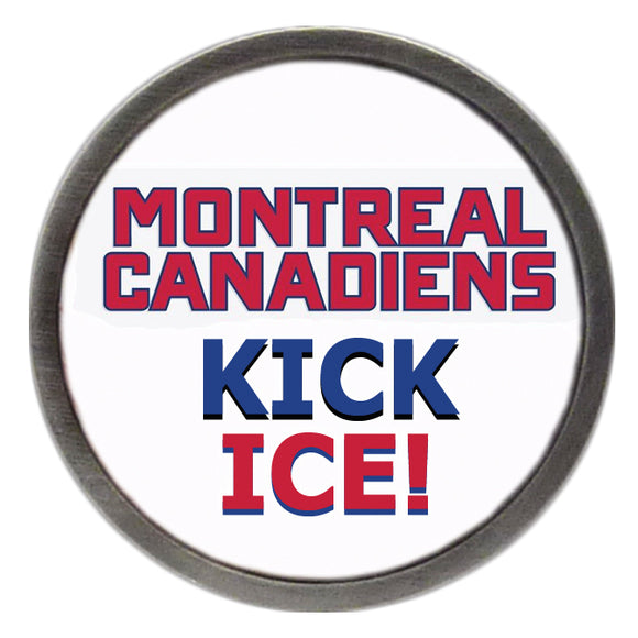 Canadiens Kick Ice Clik
