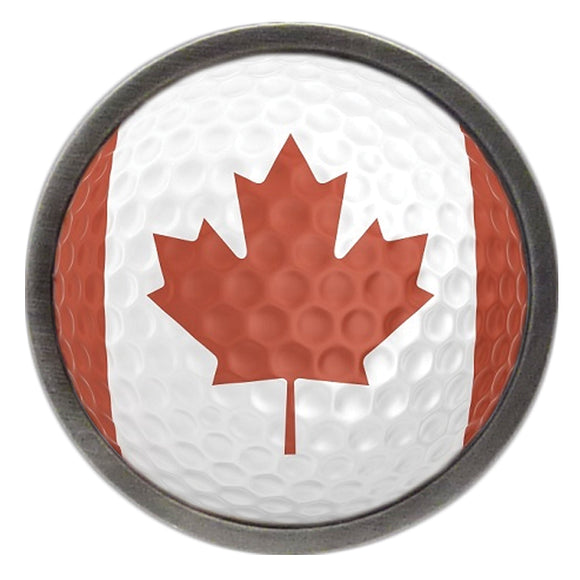 Canadian Flag Golf Ball Clik
