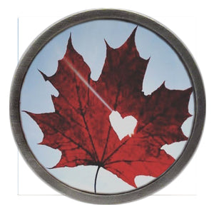 Canadian Flag NEW Leaf Love Clik
