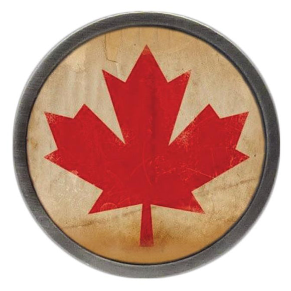 Distressed Canadian Flag Clik
