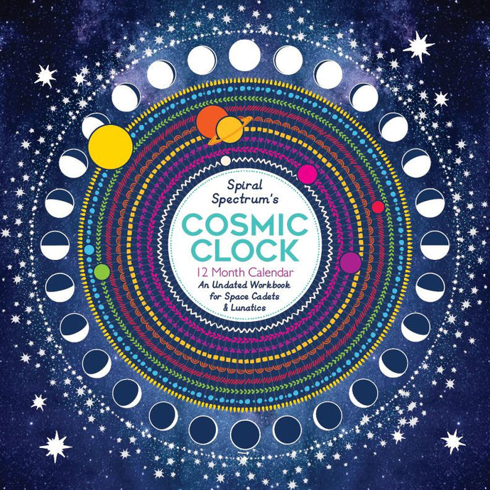 Cosmic Clock Undated 12 Month Workbook