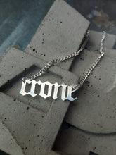 Load image into Gallery viewer, WORD PLATE NECKLACE