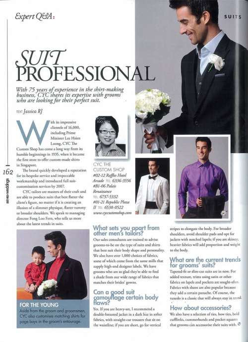 Style Weddings Magazine – Expert Q&A with CYC The Custom Shop