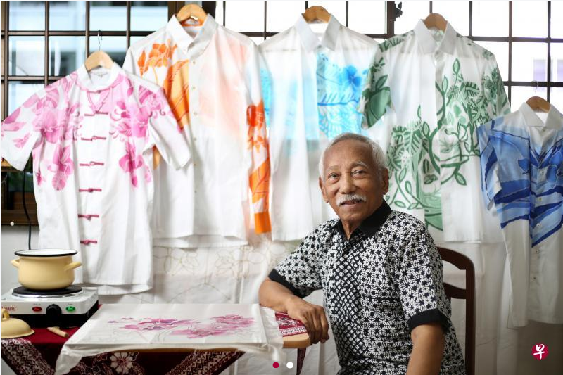 Let This Batik Master's Paintings Transport You to Nanyang Singapore