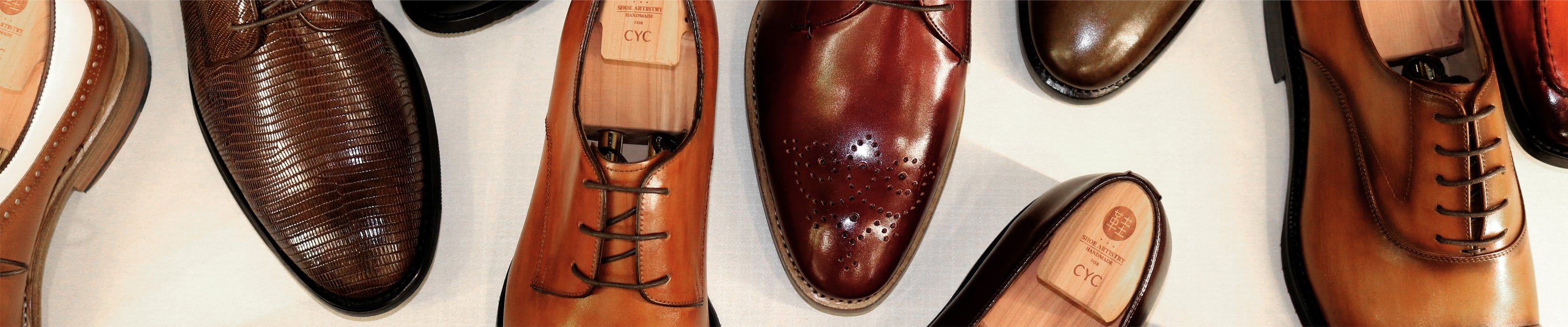 CYC x Shoe Artistry Bespoke Leather Shoes
