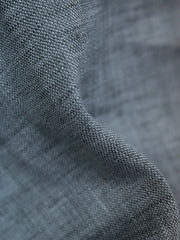 Blue 100% Cotton Fabric for tailored shirt