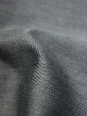 Grey cotton fabric for tailored shirt