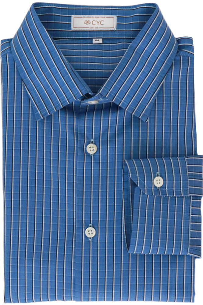 Getzner Blue Checked Shirt