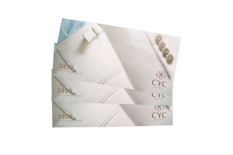 CYC Tailor $50 Vouchers
