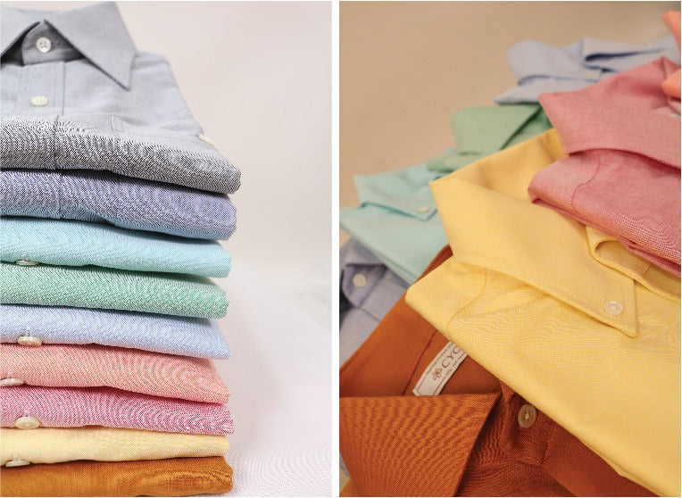 CYC tailored shirts in multiple colours