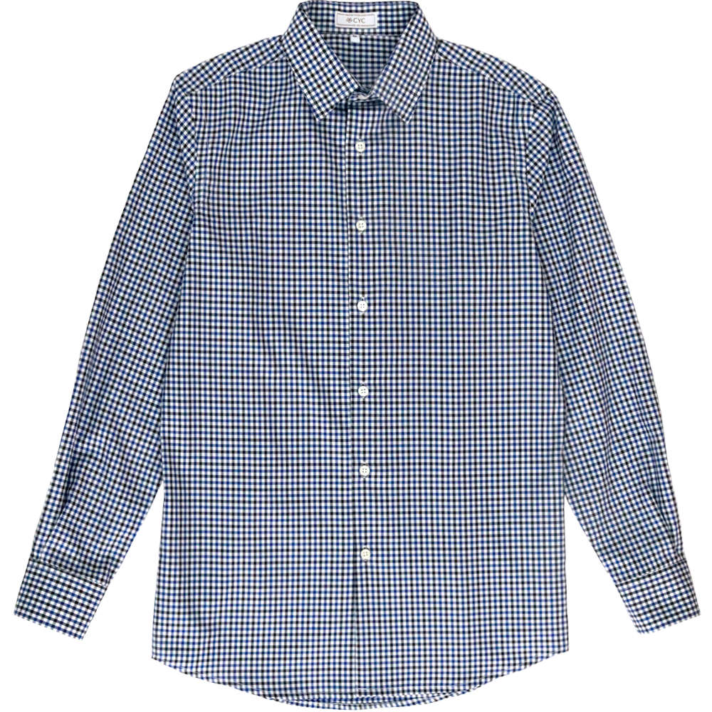 Albini Blue Gingham Shirt