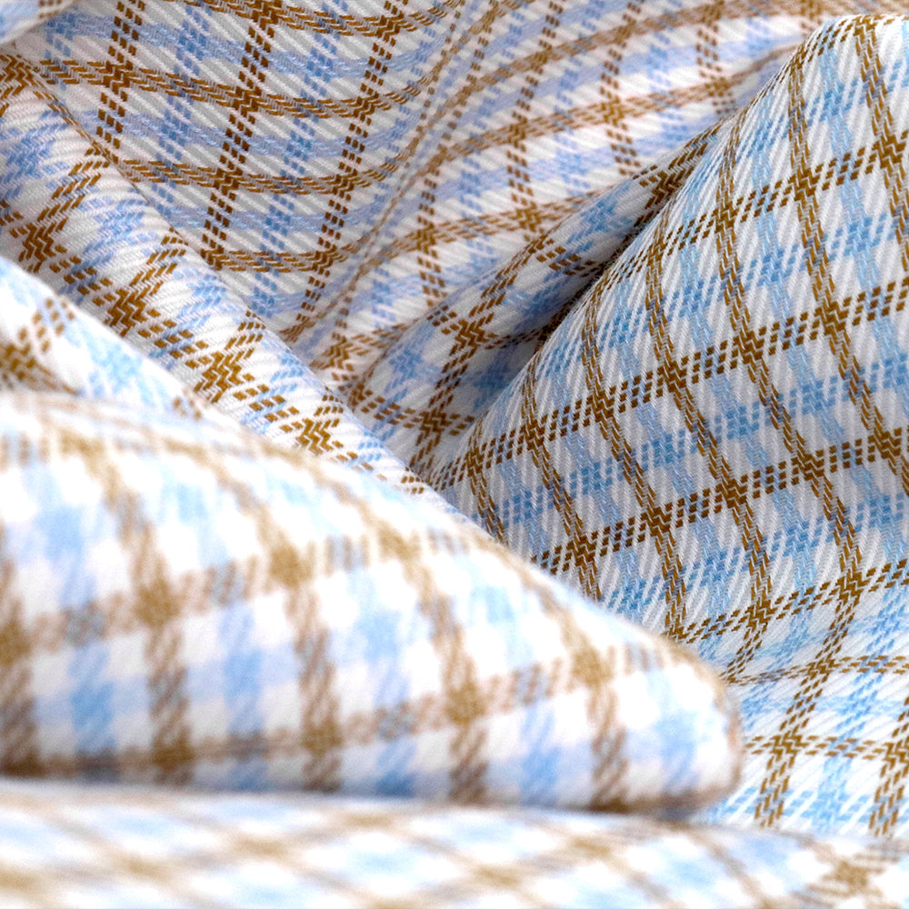 Getzner Mustard Checked Shirt