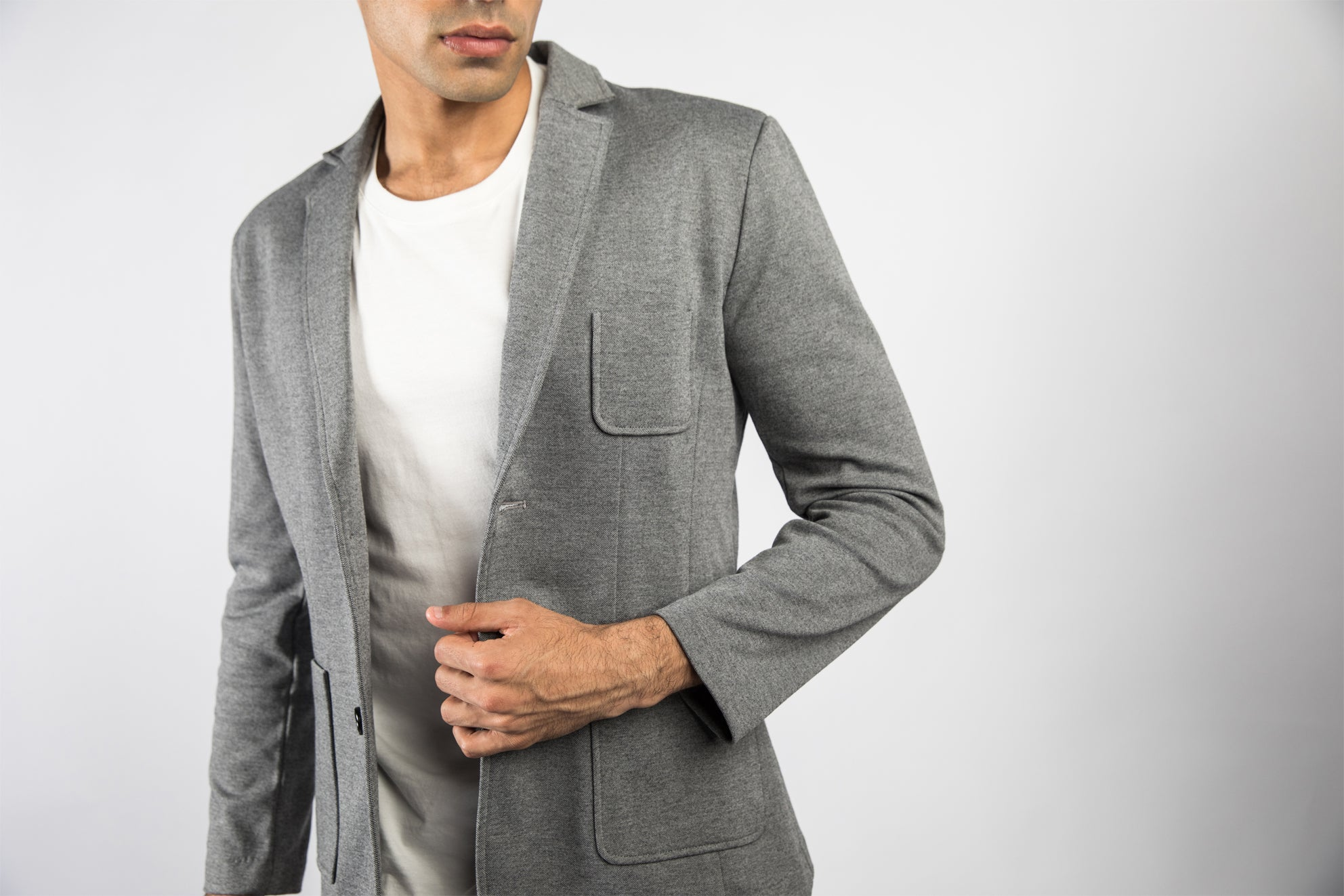 The 1935 Essential Blazer - Grey