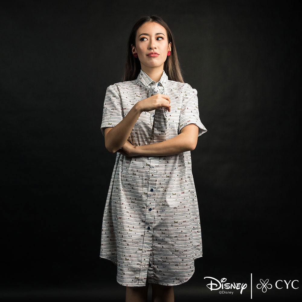 Disney/CYC Heartland Mickey Casual Printed Shirt Dress Main Image