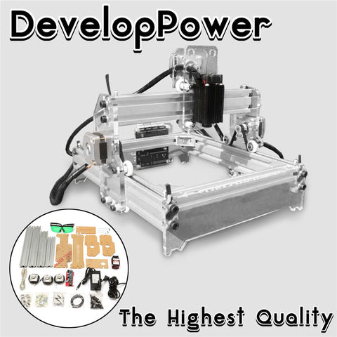 I Need This..!  2000MW A5 17x20cm Laser Engraver Cutting Machine Desktop Engraving CNC Printer DIY Desktop Wood Cutter + Laser Goggles