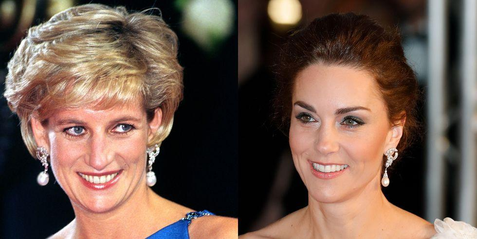 See Every Time Kate Middleton Has Worn Princess Diana's Jewelry | DÉCOR RARO