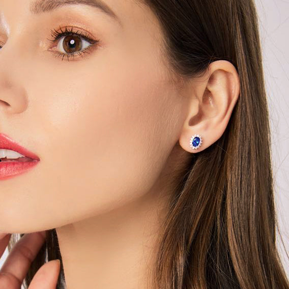 Pricess Diana Earrings