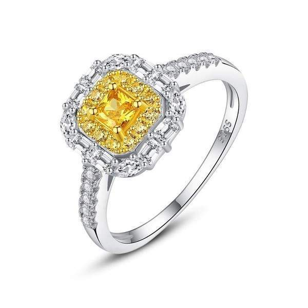 Brilliant Citrine Gemstone | Solid Sterling Silver - DÉCOR RARO