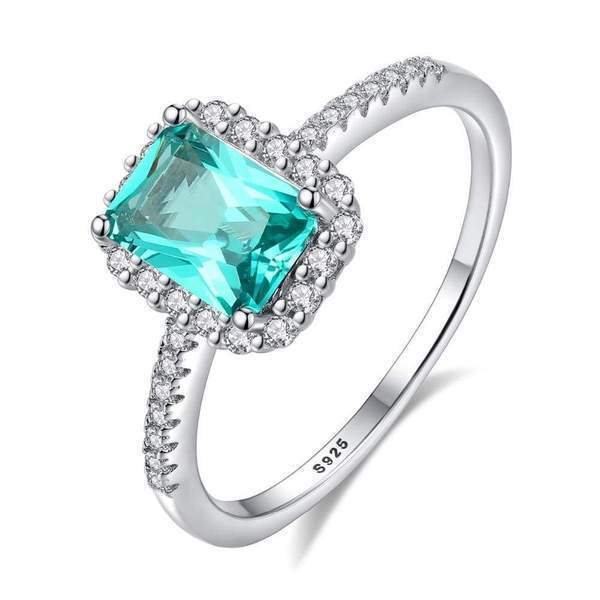 Classic Green Topaz Gemstone | Solid Sterling Silver - DÉCOR RARO