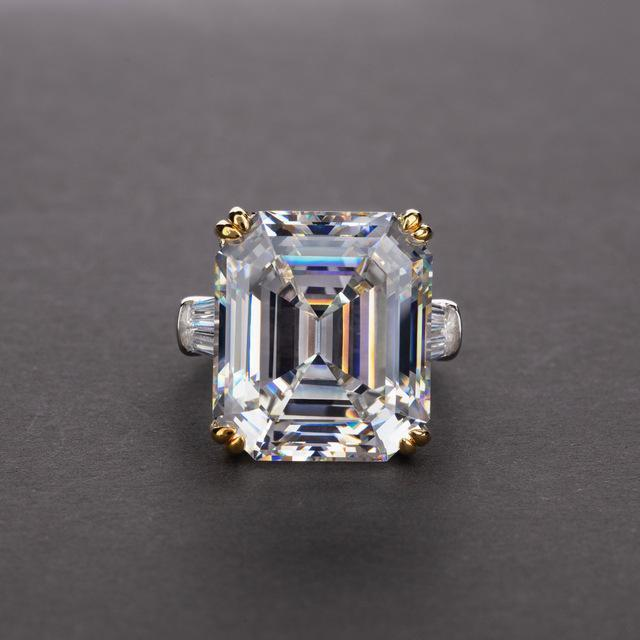 Emerald Cut Topaz Citrine | With Solid Sterling Silver - DÉCOR RARO