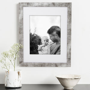 Rustic - Grey Picture frame - Framed4Me
