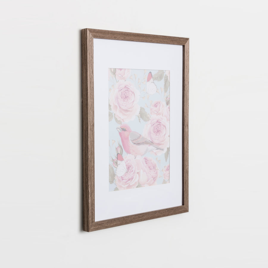 Barnwood Brown Frame