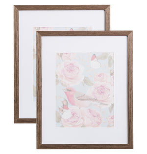 18x24 Picture frame, Matted for 12x18 Poster - 2 pack