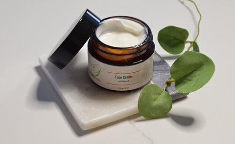 Face Cream with Vitamin C