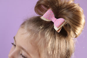 Ice Cream Layer Bow - Yellow