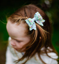 Juliet Bow - Light Blue Spring Floral