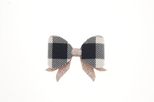 Billie Bow (Small)- Black & Gold