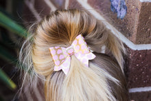 Juliet Bow - Pink & Gold Hearts