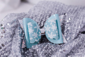 Winter Snow Flake Bow (Maeve Style)