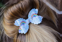 Violet Bow (Large) - Blue Rainbows