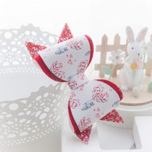 Maeve Bow - Red Lollipop Bunny