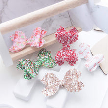 Violet Bow (Large) - Assorted Christmas (You Choose)