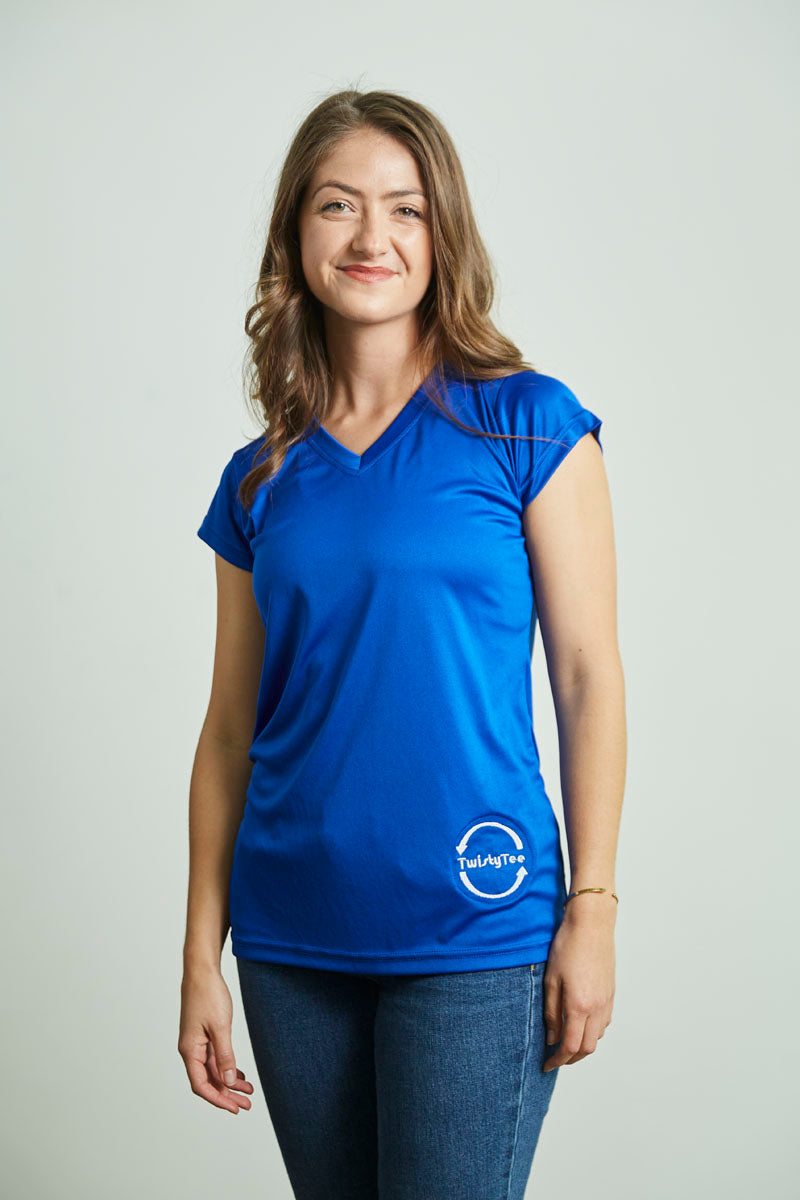 Women's Royal Blue Dry-Fit