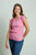 Women's TwistyTee V-Neck in Light Pink | TwistyTee