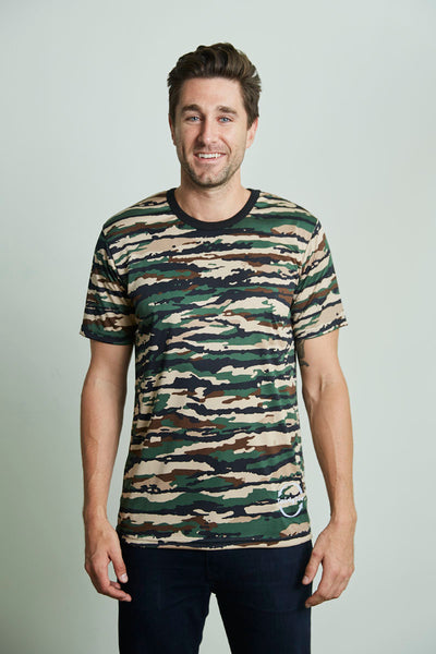 Mens TwistyTee Camouflage Dri Fit shirt