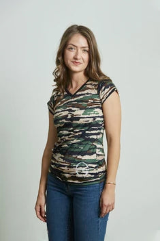 Women's Short sleeve camouflage Dry Fit TwistyTee