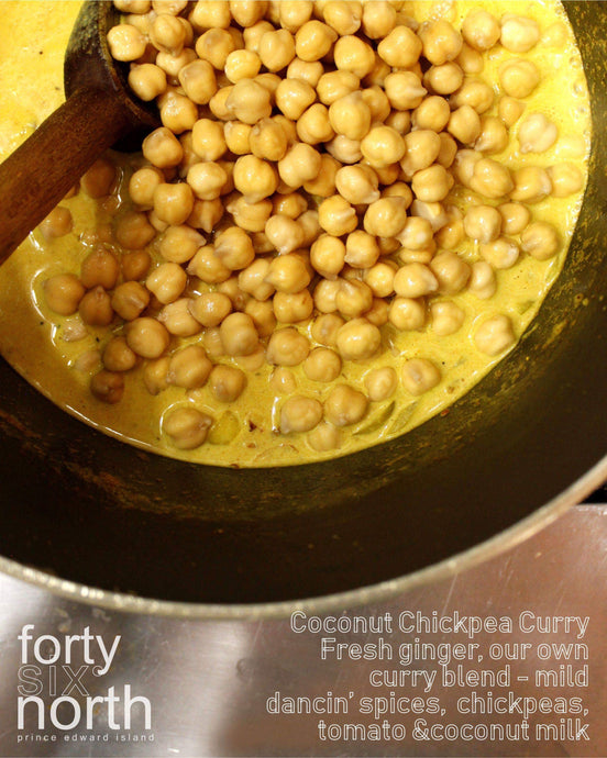 Creamy Coconut Chickpea Curry