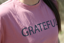 Load image into Gallery viewer, Grateful Crew Neck T-Shirt