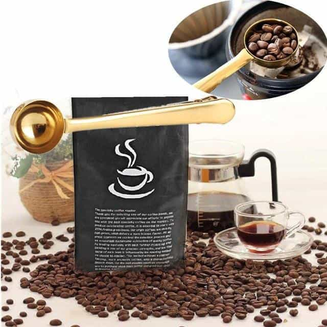 New Coffee Scoop Stainless Steel Measuring Spoon