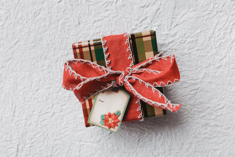 festive holiday gift box