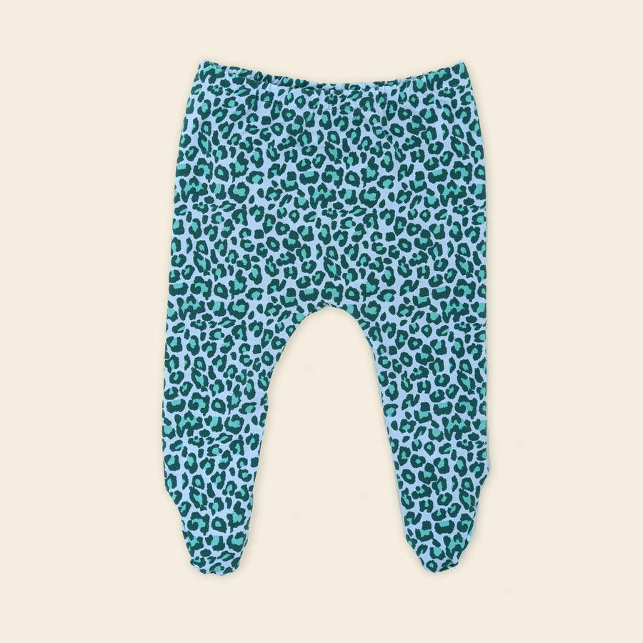 Baby leopard leggings