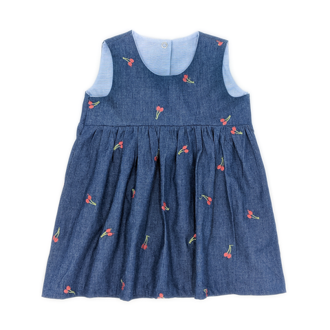 Celia, chambray dress