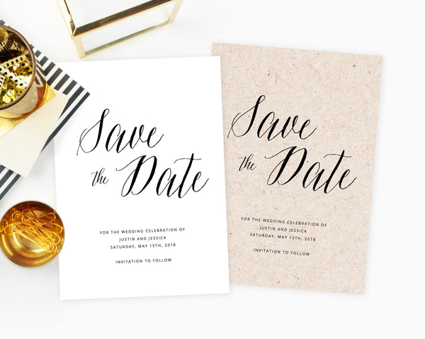 INSTANT DOWNLOAD Save the Date, Save the Date Template, Marble Save the Date Printable, Marble Wedding Template, Modern Invitation, Templett