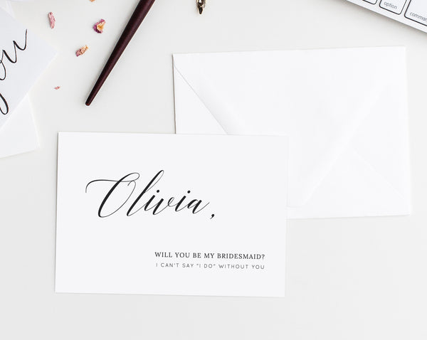 picture about Will You Be My Bridesmaid Printable identified as Will On your own Be My Bridesmaid Card Template, Will Oneself Be My Maid Of Honor Card, Printable Bridesmaid Proposal, Bridal Get together Card, Templett, W02