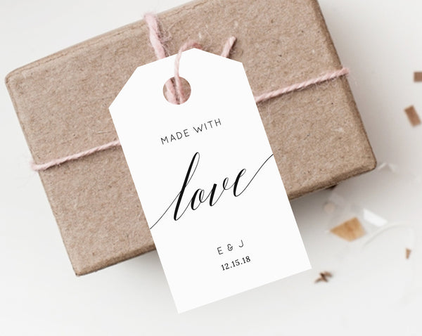 graphic relating to Printable Wedding Favor Tags referred to as Prompt Obtain Want Tags, Thank By yourself Tag, Marriage ceremony Desire Tag, Basic Marriage ceremony Present Tag, Choose Label, Choose Tag Printable, Templett, W02