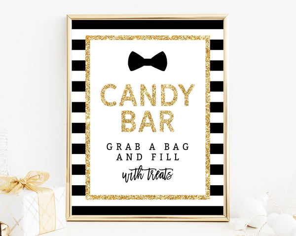 INSTANT DOWNLOAD Mr. Onederful Candy Bar Sign, First Birthday Party Favor Sign, Mr. Onederful Treats Sign, B02